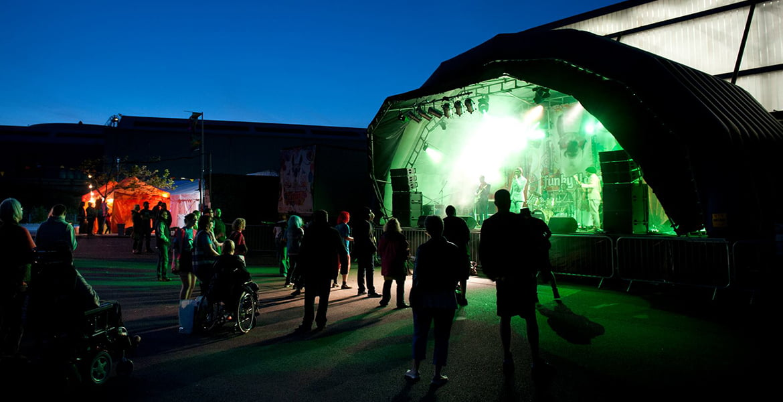 Funky Llama Festival Production